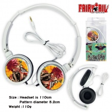 妖精的尾巴通用有线游戏音乐头戴式耳机