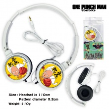 一拳超人通用有线游戏音乐头戴式耳机