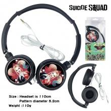 自杀小队通用有线游戏音乐头戴式耳机