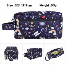 防弹少年团 韩国明星BTS周边 BTS大容量多功能双层拉链笔袋文具盒化妆包