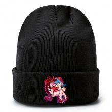 周五放克夜周边毛线帽 针织帽 男女套头毛绒帽子