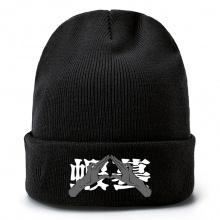 咒术回战周边毛线帽 针织帽 男女套头毛绒帽子
